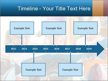 Three Schoolgirls PowerPoint Templates - Slide 28