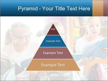 Three Schoolgirls PowerPoint Templates - Slide 30
