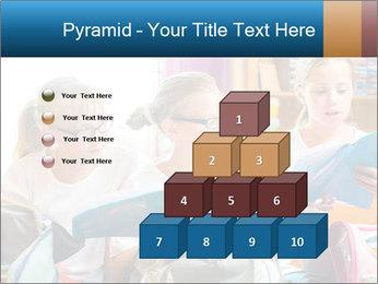 Three Schoolgirls PowerPoint Templates - Slide 31