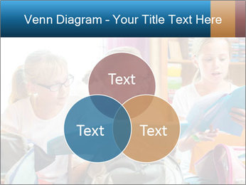 Three Schoolgirls PowerPoint Templates - Slide 33