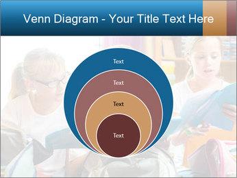 Three Schoolgirls PowerPoint Templates - Slide 34
