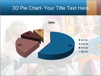 Three Schoolgirls PowerPoint Templates - Slide 35