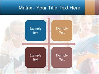Three Schoolgirls PowerPoint Templates - Slide 37