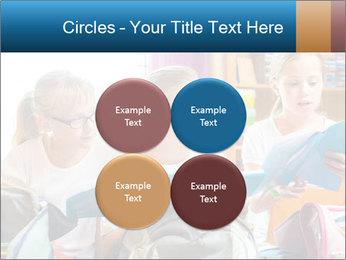 Three Schoolgirls PowerPoint Templates - Slide 38