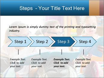 Three Schoolgirls PowerPoint Templates - Slide 4