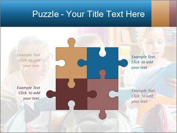 Three Schoolgirls PowerPoint Templates - Slide 43