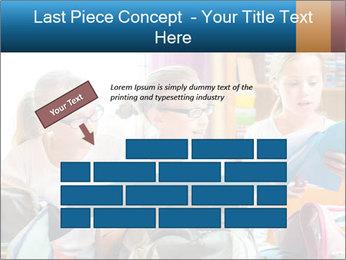 Three Schoolgirls PowerPoint Templates - Slide 46