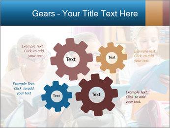 Three Schoolgirls PowerPoint Templates - Slide 47