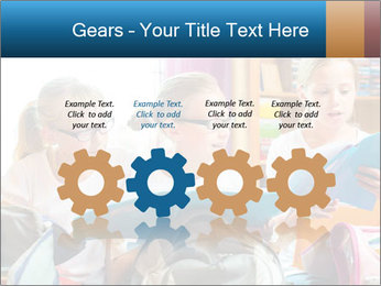 Three Schoolgirls PowerPoint Templates - Slide 48