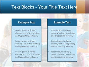 Three Schoolgirls PowerPoint Templates - Slide 57