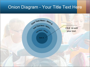 Three Schoolgirls PowerPoint Templates - Slide 61