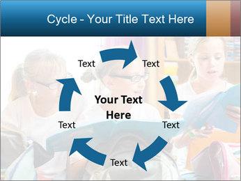 Three Schoolgirls PowerPoint Templates - Slide 62