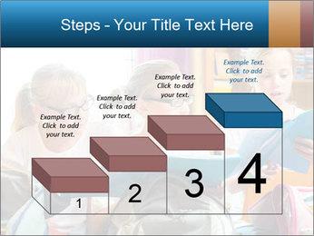 Three Schoolgirls PowerPoint Templates - Slide 64