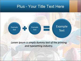 Three Schoolgirls PowerPoint Templates - Slide 75