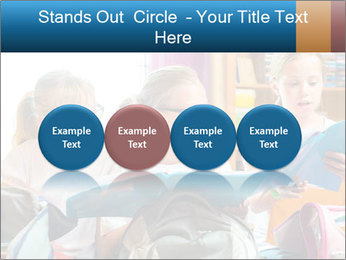 Three Schoolgirls PowerPoint Templates - Slide 76