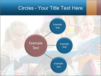 Three Schoolgirls PowerPoint Templates - Slide 79