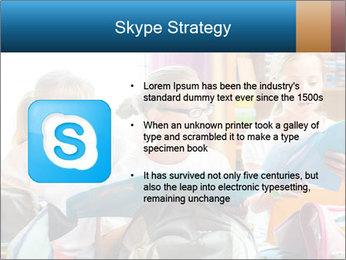 Three Schoolgirls PowerPoint Templates - Slide 8