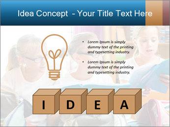Three Schoolgirls PowerPoint Templates - Slide 80