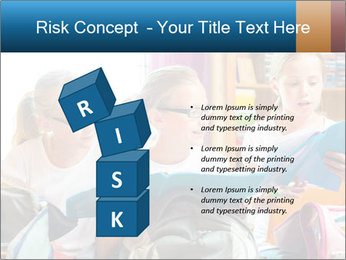 Three Schoolgirls PowerPoint Templates - Slide 81