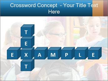 Three Schoolgirls PowerPoint Templates - Slide 82