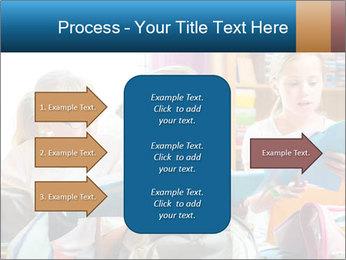 Three Schoolgirls PowerPoint Templates - Slide 85