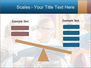 Three Schoolgirls PowerPoint Templates - Slide 89