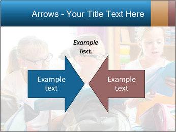 Three Schoolgirls PowerPoint Templates - Slide 90
