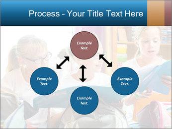 Three Schoolgirls PowerPoint Templates - Slide 91