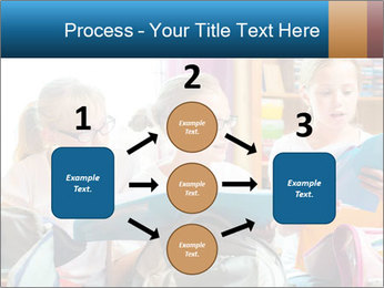 Three Schoolgirls PowerPoint Templates - Slide 92