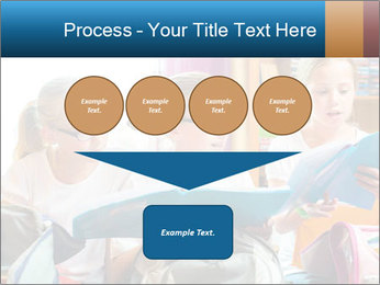 Three Schoolgirls PowerPoint Templates - Slide 93