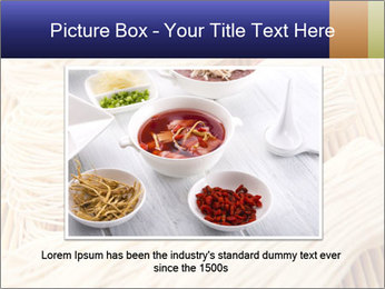 Chinese Noodles PowerPoint Template - Slide 15