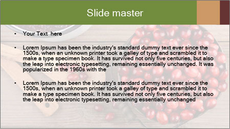 Cook With Berries PowerPoint Template - Slide 2