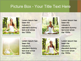 Meditation In Forest PowerPoint Template - Slide 14