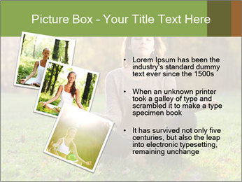Meditation In Forest PowerPoint Template - Slide 17