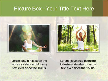 Meditation In Forest PowerPoint Template - Slide 18