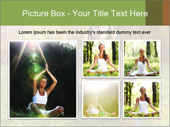 Meditation In Forest PowerPoint Template - Slide 19