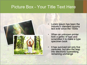 Meditation In Forest PowerPoint Template - Slide 20