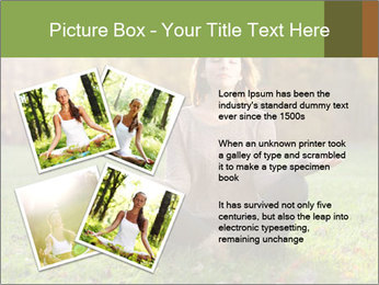 Meditation In Forest PowerPoint Template - Slide 23