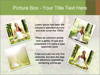 Meditation In Forest PowerPoint Template - Slide 24