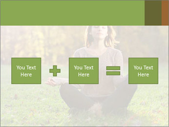Meditation In Forest PowerPoint Template - Slide 95