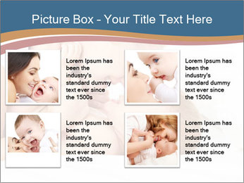 Mother's Tenderness PowerPoint Templates - Slide 14