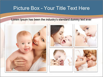 Mother's Tenderness PowerPoint Templates - Slide 19