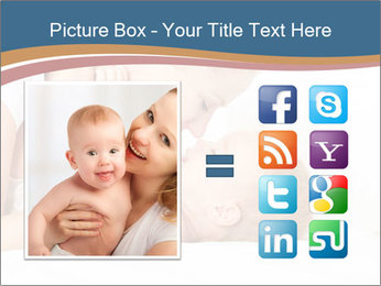 Mother's Tenderness PowerPoint Templates - Slide 21