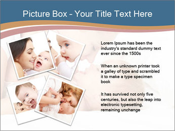 Mother's Tenderness PowerPoint Template - Slide 23