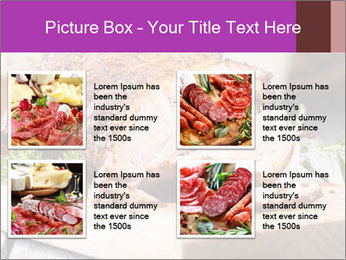 Meat Delicacy PowerPoint Template - Slide 14