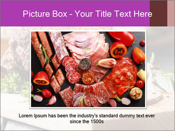 Meat Delicacy PowerPoint Template - Slide 15