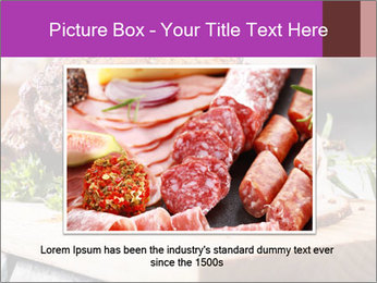 Meat Delicacy PowerPoint Template - Slide 16