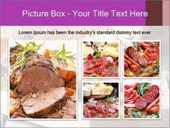 Meat Delicacy PowerPoint Template - Slide 19