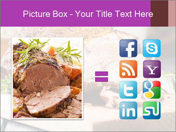 Meat Delicacy PowerPoint Template - Slide 21