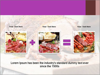 Meat Delicacy PowerPoint Template - Slide 22